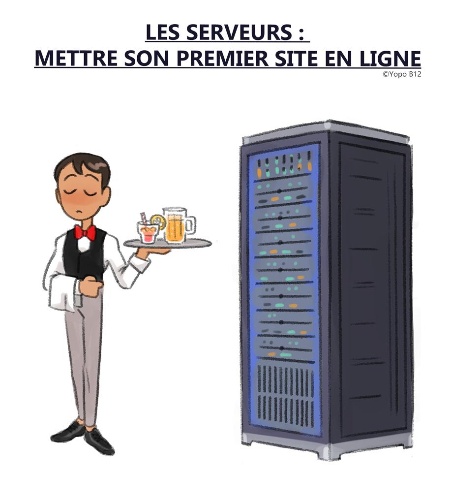 Serveurs web : Mettre son premier site en ligne
