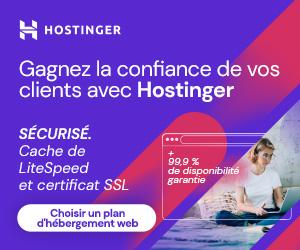 Serveurs Webs : Hostinger